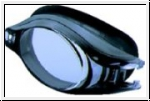 Schwimmbrille VIEW V 500A - Platina Deluxe - SCHWARZ